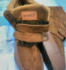 Зимняя женская обувь новая