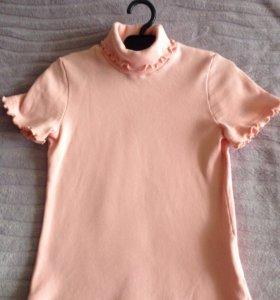 Школьная трикотажная блузка