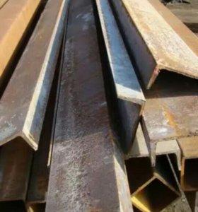 Швеллер и уголки металлические