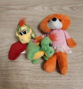 Плюшевые игрушки, маленькие