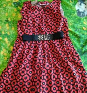 Платье почти новое, одевалось 2 раза размер 46
