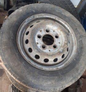 4 колеса + диск для спринтера 901-903 кузов