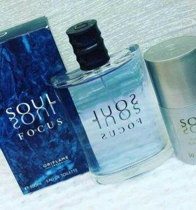Туалетная вода Soul Focus oriflame 100 мл