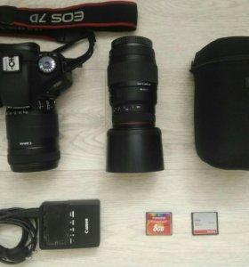 Canon 7d+объективы