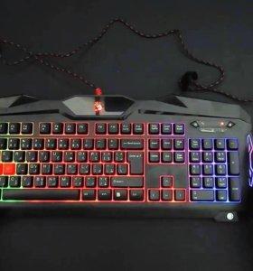 Игровая Bloody b2100 клавиатура+мышка