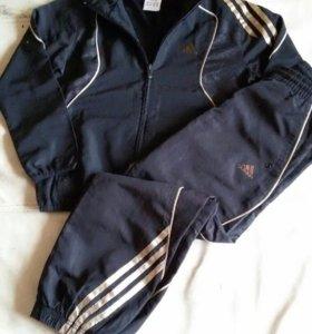 Adidas костюм спорт мальчик рост 128-134