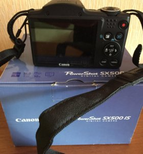 Canon power shot sx 500 is