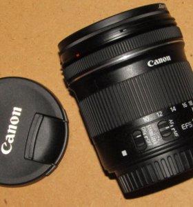 Продам объектив 10-18 Canon stm+cpl фильтр