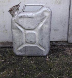 Канистра алюминиевая под питьевую воду 10 литров