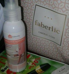 Faberlic Водный спрей-антистатик