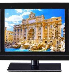 Телевизор небольшой плоский с dvb-t2 Новорос