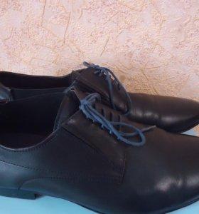 Туфли  натур. кожа