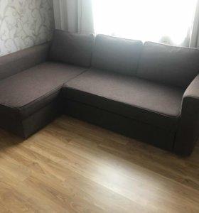 Угловой диван кровать монстад икеа
