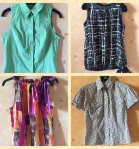 Летние блузки, рубашки, оригинальные топы