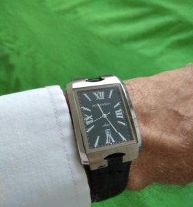 Часы Romanson Adel TL0186SXW(BK) швейцарский мех-м