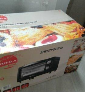 Электропечь новая Supra MTS-1001 800Вт