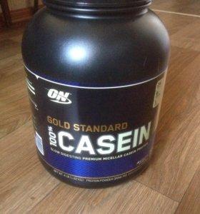 100% Casein Gold Standard (Creamy vanilla) 1,4 kg.