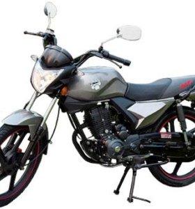 Мотоцикл IRBIS GS 150сс серый
