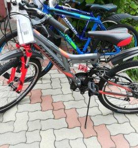 Велосипед новый 24дюйма