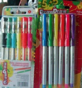 Ручки шариковые и гелевые для школьников