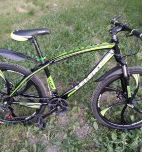 Горный велосипед LELERT на литых дисках