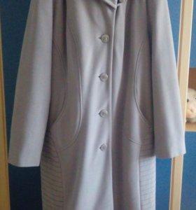 Пальто б/у, демисезонное, размер 50-52