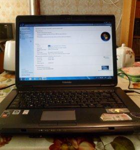 Ноутбук Toshiba Satellite L300D-20M/ 2 ядра / 2 gb