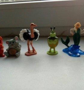 Коллекционные (и нет) игрушки kinder