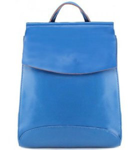Женский рюкзак трансформер Pyato голубого цвета