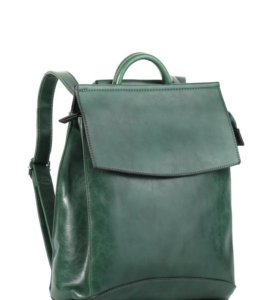Женский рюкзак трансформер Pyato зеленого цвета