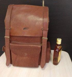 Рюкзак натуральной кожи (ранец) ручной работы