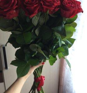 Букет цветов из роз 21шт