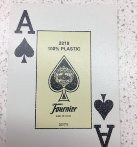 Игральные карты Fournier 2818
