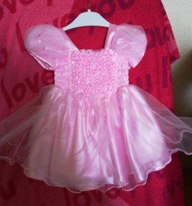 Воздушное платье для маленькой принцессы