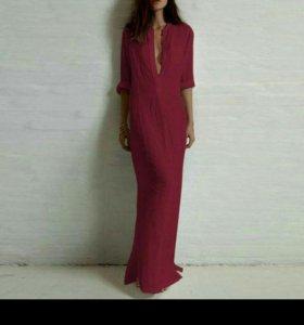 Платье рубашка 48 размер