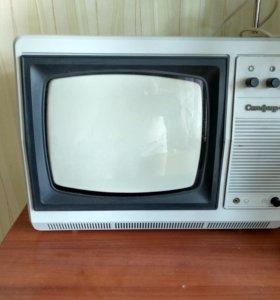 Ретро телевизор Сапфир 412