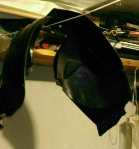 Подкрылок пластиковый передний левый Рено Логан