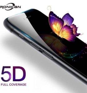 Защитное стекло 5D IPhone 6/6s 7 8