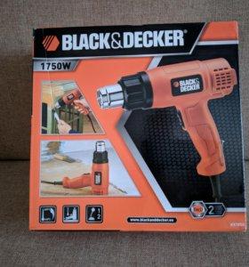 Строительный фен BLACK+DECKER KX1650