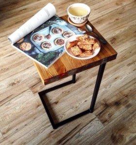 Столик для ноутбука,кофейный, придиванный