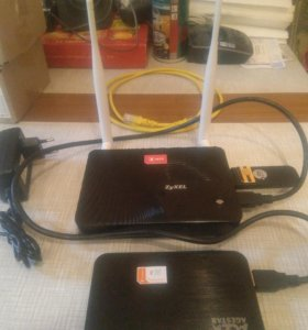 Комплект 4G WiFi Модем с Роутером