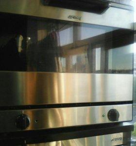 Печь с растоичным шкафом