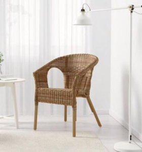 Кресло плетённое