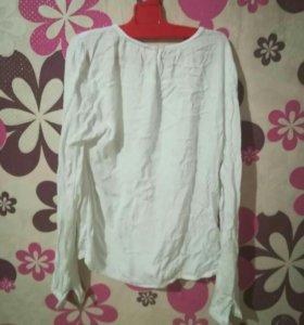 Блузка(белая)