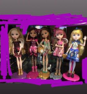 Куклы ever after high monster high