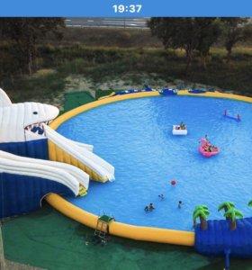 Батутный аквапарк «АКУЛА»