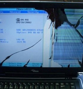 Ремонт экрана ноутбука