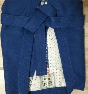 Куртка для Самбо, с поясом, рост 170.