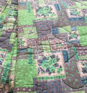 Одеяло ватное 2шт 1.5спальное 200×150см
