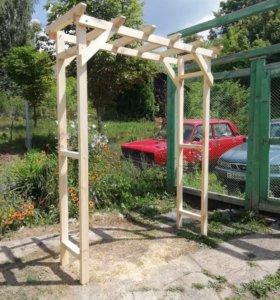 Пергола, арка садовая